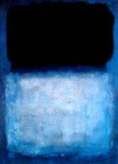 M. Rothko, Green over blue